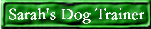 Sarah's Dog Trainer